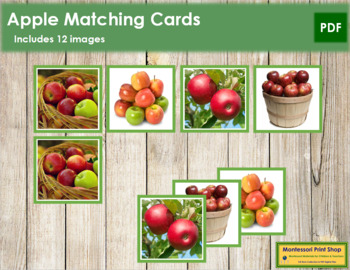 Apple Photo Matching Cards