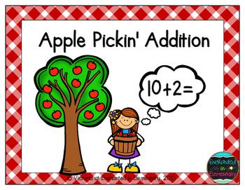 Apple Pickin' Addition! Addition Facts Practice {Freebie!}