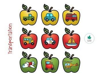 Common Categories: Apple Pickin' Activity