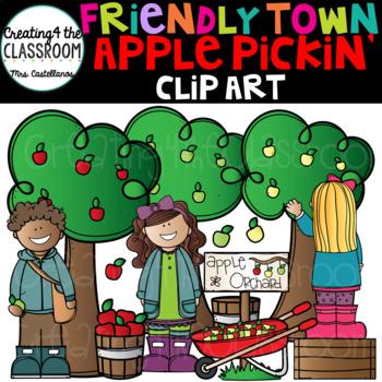 Apple Pickin' Clip Art {Apple Clip Art}