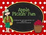 Apple Pickin' Fun- A Kindergarten Unit Aligned to CCSS