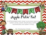 Apple Pickin Fun Math Center