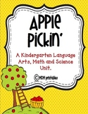 Apple Pickin' Kindergarten English, Math & Science Fun! (Common Core Aligned)