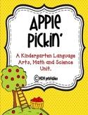 Apple Pickin' Kindergarten English, Math & Science Fun! (Common Core Aligned)