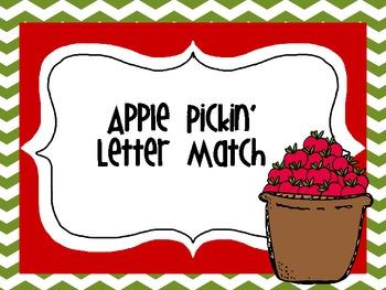 Apple Pickin' Letter Match