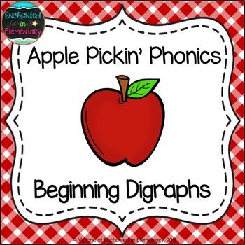 Apple Pickin' Phonics: Beginning Digraphs Pack