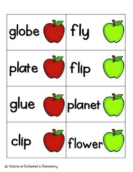 Apple Pickin' Phonics: L-Blends Pack