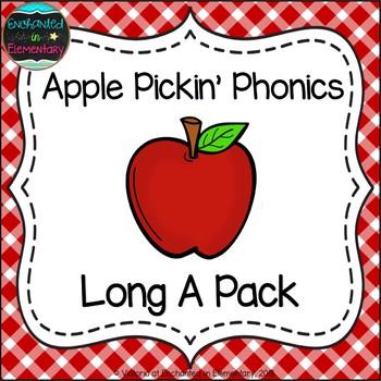 Apple Pickin' Phonics: Long A Pack