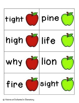 Apple Pickin' Phonics: Long I Pack