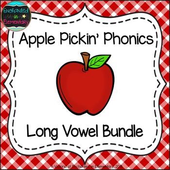 Apple Pickin' Phonics: Long Vowel Bundle