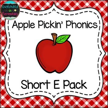 Apple Pickin' Phonics: Short E Pack