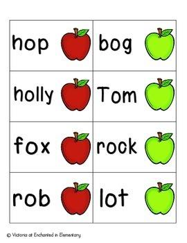 Apple Pickin' Phonics: Short O Pack