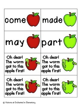 Apple Pickin' Sight Words! Fry List 1