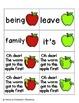 Apple Pickin' Sight Words! Fry List 3