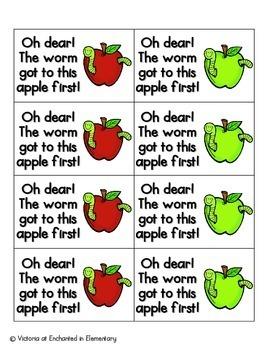 Apple Pickin' Sight Words! Pre-Primer List Pack