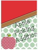 Apple Picking Addition {Cut & Paste}