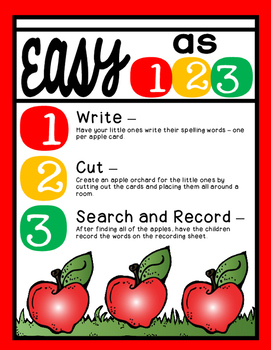 Apple Picking [An Apple-solutely Awesome Way to Practice Spelling]