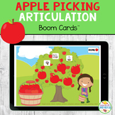 Apple Picking Articulation BOOM Cards Distance Learning