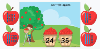 Apple Picking: Base Ten (Great for Google Classroom!)