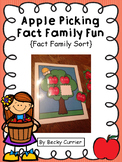 Apple Picking Fact Family Fun~ Fact Family Sort