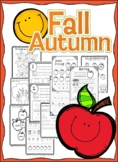 Apple Picking: Fall Worksheets