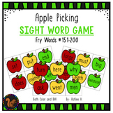 Apple Picking - Fry Sight Word Game #151-200