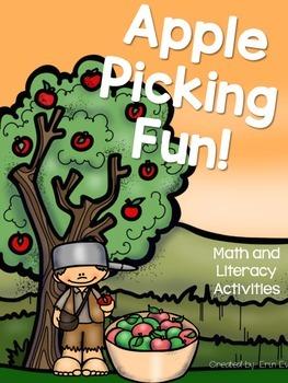Apple Picking Fun! - Math and Literacy Activities