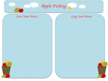 Apple Picking Literacy Pack