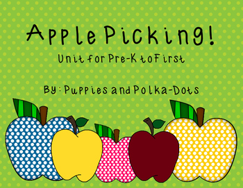 Apple Picking! Literacy and Math Unit