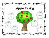 Apple Picking-Number, Shape, Color, and Letter Identificat