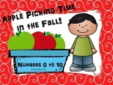 Apple Picking Numbers 1 to 10