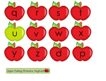 Phoneme Segmentation - Apple Picking