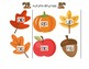 Autumn Rhyming Cards (CVC-Short Vowel)