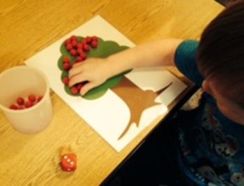 Apple Picking Table Game