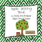 Sight Word Game- Apples