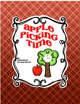 Apple Picking Time Math Center