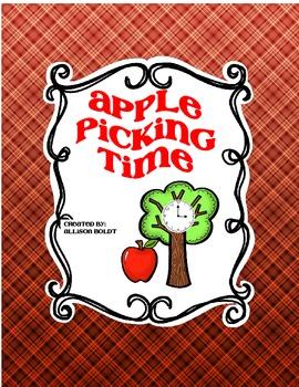 Apple Picking Time Math Center