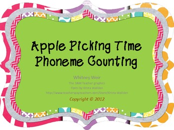 Apple Picking Time Phoneme Counting