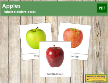 Apple Picture Cards