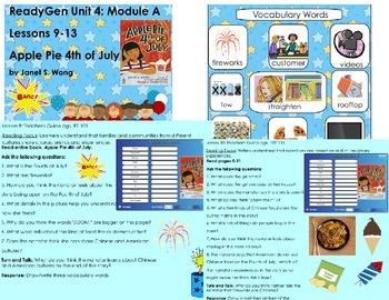 Apple Pie 4th of July ReadyGen Kindergarten