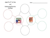 Apple Pie 4th of July and Celebrating Patriotic Holidays bubble map