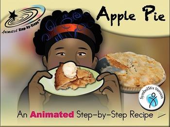 Apple Pie - Animated Step-by-Step Recipe SymbolStix