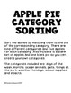 Apple Pie Categories