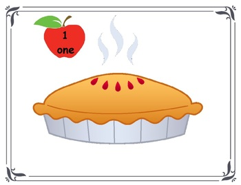Apple Pie Counting (Numbers 1-10)