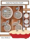 Apple Pie Fraction Craft