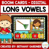 Apple Pie Long Vowels - Boom Cards - Distance Learning