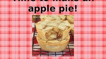 Apple Pie Making Powerpoint