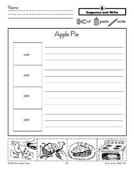 Apple Pie (Sequence and Write)