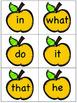 Apple Pie Sight Word Game