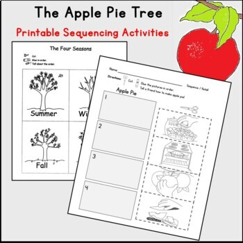 Apple Pie Tree Read Aloud Literacy Pack with C Core Lesson Plans